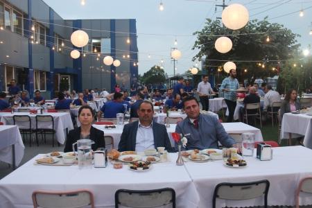 GENEL BAŞKANIMIZ DEĞİRMENCİ, MAYSAN MANDO'DA ÜYELERİMİZLE İFTAR YAPTI