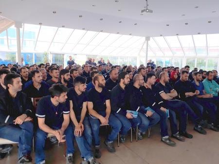ALİMEX VE AKPA ALÜMİNYUM'A TEMEL SENDİKACILIK EĞİTİMİ