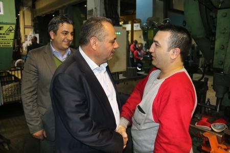 GAMAK MAKİNA'NIN GECE VARDİYASINA ZİYARETİ