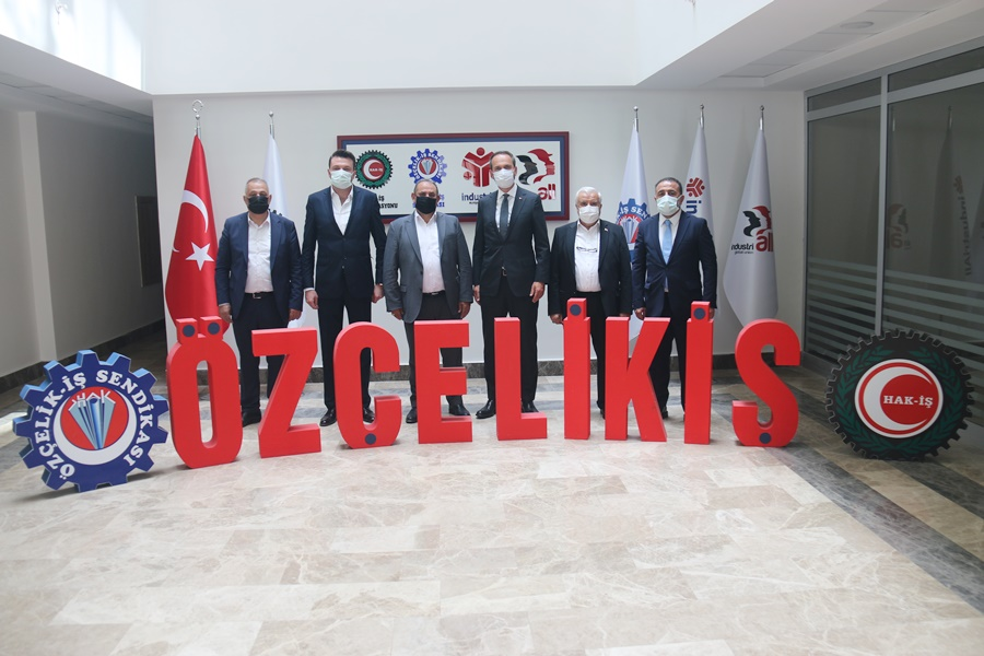 BAKAN YARDIMCISI BAYRAKTAR'DAN SENDİKAMIZA ZİYARET