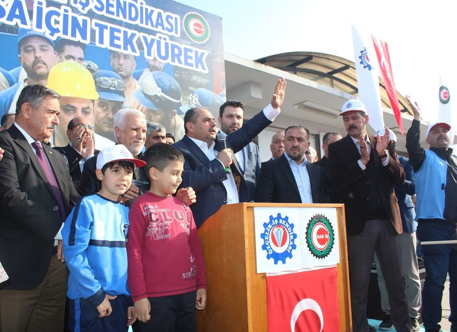 """""""TEMSA İÇİN TEK YÜREK"""" MİTİNGİ DÜZENLEDİK"""