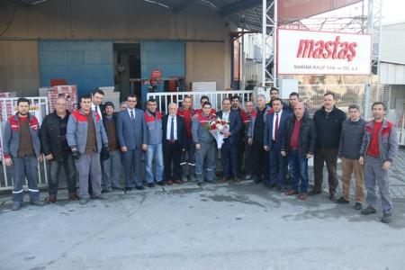 MASTAŞ MAKİNA'YA ZİYARET