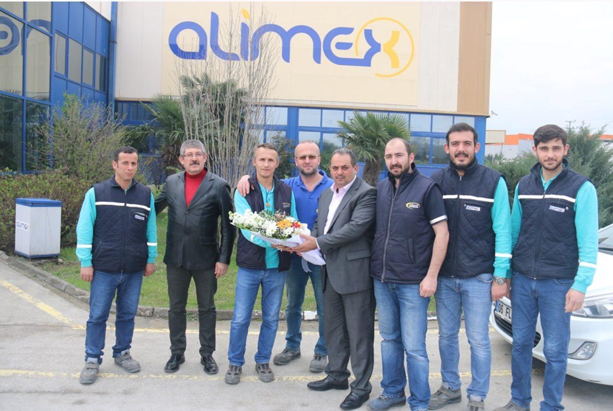 ALİMEX ALÜMİNYUM'A ZİYARET