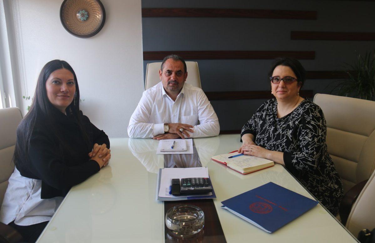 AMERİKALI SENDİKACI EMİLY TWAROG'DAN SENDİKAMIZA ZİYARET