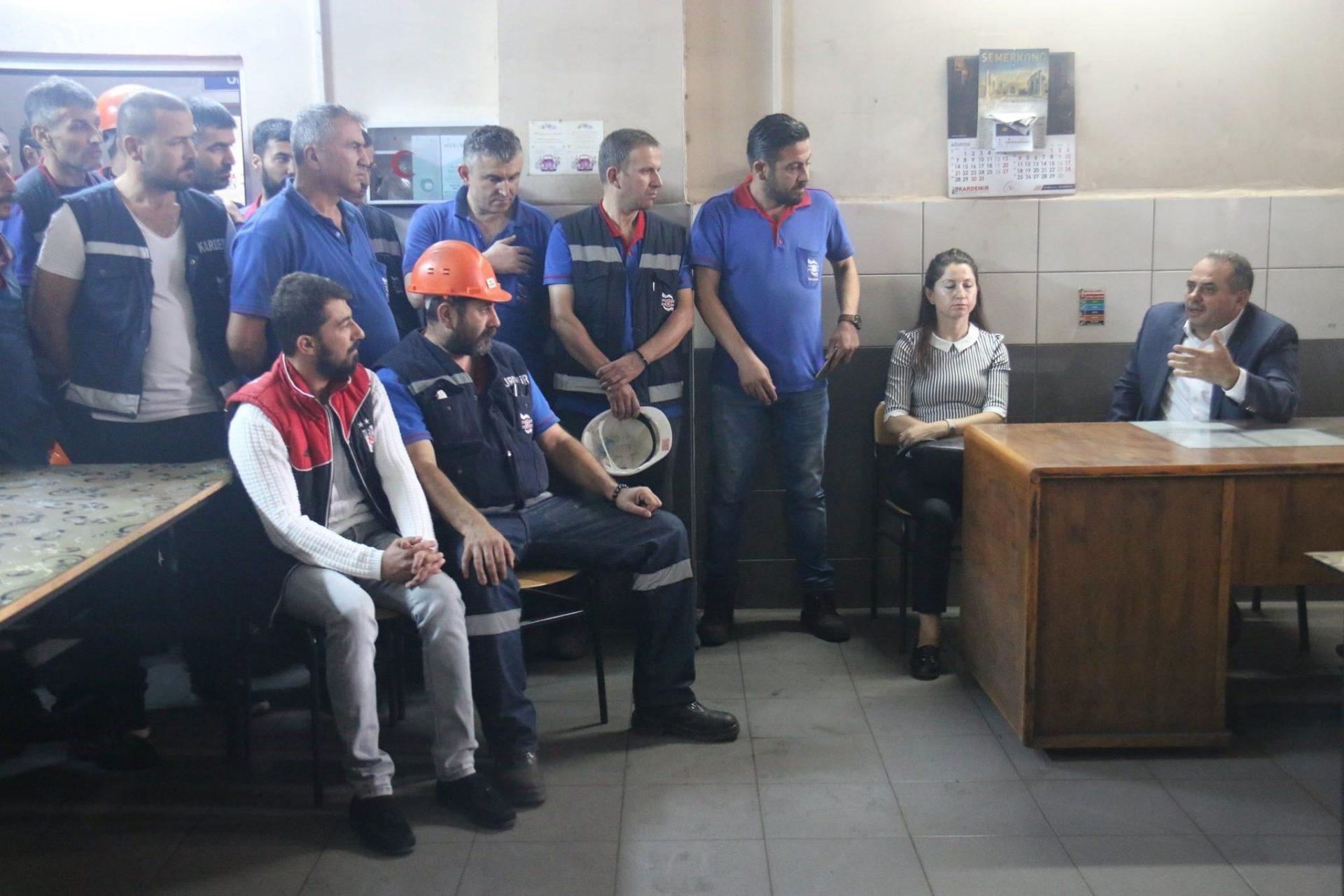 SENDİKAMIZDAN KARDEMİR'E ZİYARET