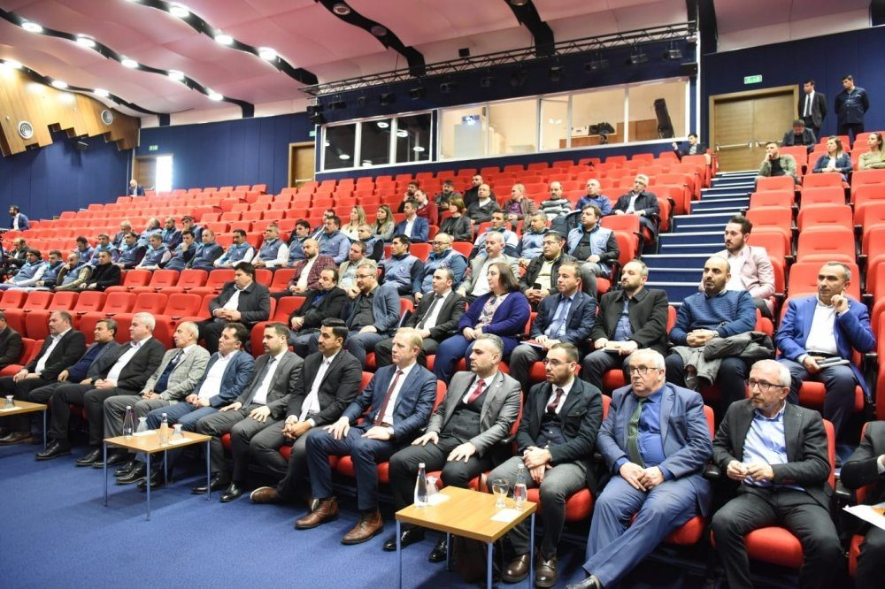 GENEL BAŞKANIMIZ DEĞİRMENCİ, KAYSERİ'DE TOPLU SÖZLEŞME İMZA TÖRENİNE KATILDI