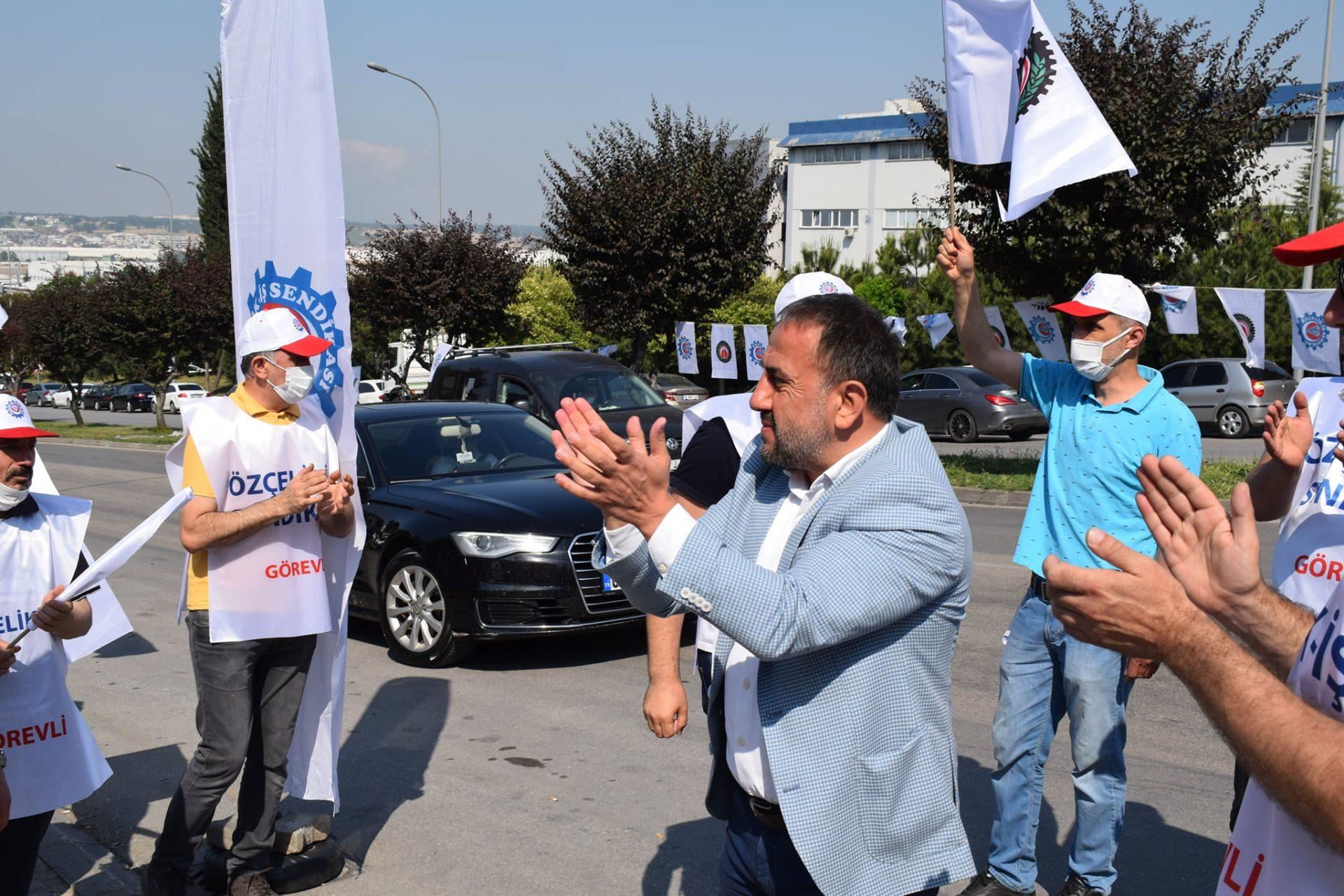 """AKYEL: """"MASTAŞ İŞÇİSİ ALIN TERİNİ YERDE BIRAKMAZ"""""""