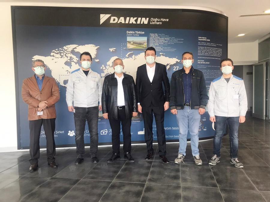 DAİKIN'DA TOPLU İŞ SÖZLEŞMESİ MASA BAŞINDA İMZALANDI